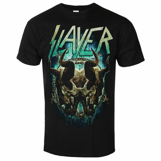 t-shirt pour homme Slayer - Daemonic Twin BL - ROCK OFF, ROCK OFF, Slayer