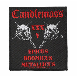 applique Candlemass - Epicus 35th Anniversary - ROCK OFF, ROCK OFF, Candlemass
