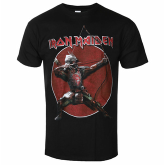 t-shirt pour homme Iron Maiden - Eddie Archer Red Circle BL - ROCK OFF - IMTEE135MB