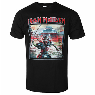 t-shirt pour homme Iron Maiden - Album Palace Keyline Square BL - ROCK OFF - IMTEE138MB