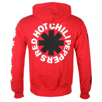 sweatshirt pour homme Red Hot Chili Peppers - Classic N&B Asterisk red - RTRHCHDRCLA