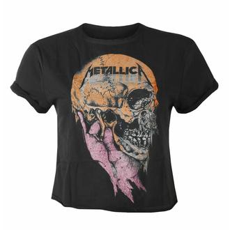 t-shirt pour femmes (Haut) METALLICA - SAD BUT TRUE - CHARCOAL - AMPLIFIED, AMPLIFIED, Metallica