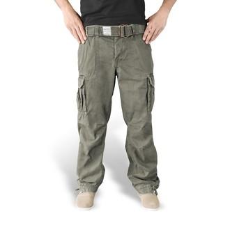 pantalon pour hommes SURPLUS - PREMIUM VINTAGE TR. - OLIVE - 05-3597-61