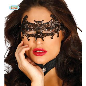 Masque brodé CHAUVE SOURIS