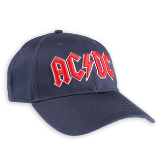 casquette AC / DC - Red Logo Navy - ROCK OFF, ROCK OFF, AC-DC