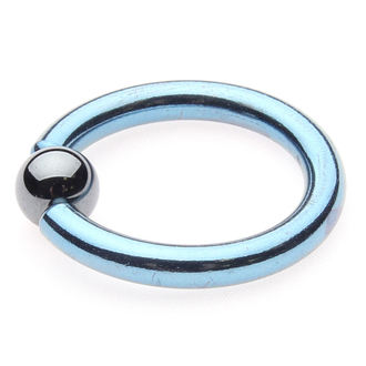 bijou piercing - Metallic Blue - 6mm