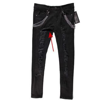 pantalon femmes DISTURBIA - Black Metal - DIS801-BLK - ENDOMMAGÉ, DISTURBIA