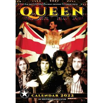 Calendrier 2022 - QUEEN, NNM, Queen