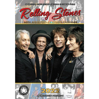 Calendrier 2022 - ROLLING STONES, NNM, Rolling Stones
