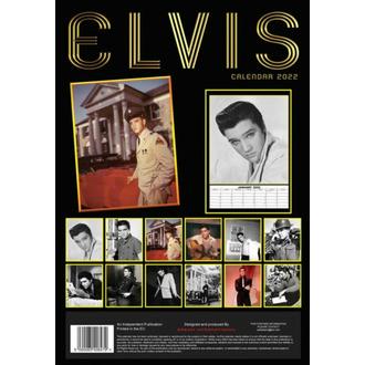 Calendrier 2022 - ELVIS PRESLEY, NNM, Elvis Presley