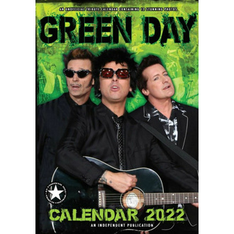 Calendrier 2022 GREEN DAY, NNM, Green Day