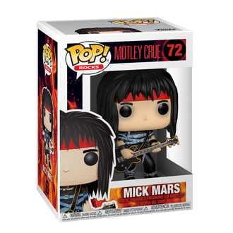 Figurine Mötley Crüe - POP! - Des roches - Mick Mars, POP, Mötley Crüe