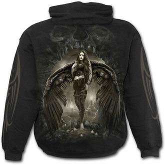 sweat-shirt avec capuche pour hommes - DARK ANGEL - SPIRAL, SPIRAL