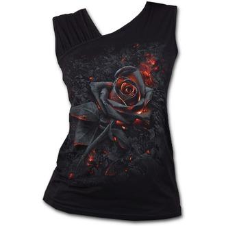 Débardeur femmes SPIRAL - BURNT ROSE - Noir - K048G072