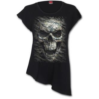 t-shirt pour femmes - CAMO-SKULL - SPIRAL, SPIRAL