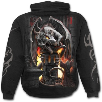 sweat-shirt avec capuche pour hommes - KEEPER OF THE FORTRESS - SPIRAL - T146M451