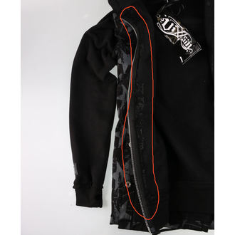 sweat-shirt avec capuche pour hommes - STAR CHAOS - VIXXSIN, VIXXSIN