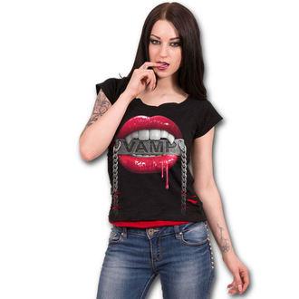 t-shirt pour femmes - FANGS - SPIRAL, SPIRAL