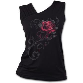 Débardeur femmes SPIRAL - ROSE SLANT - Noir, SPIRAL