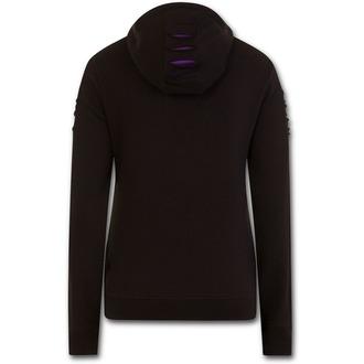 sweat-shirt avec capuche pour hommes - GOTHIC ROCK - SPIRAL
