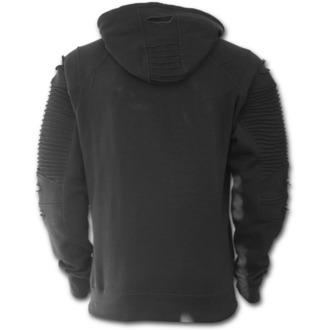 sweat-shirt avec capuche pour hommes - GOTHIC ROCK - SPIRAL, SPIRAL
