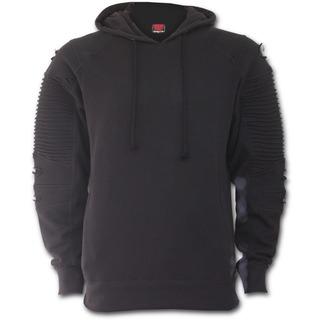 sweat-shirt avec capuche pour hommes - GOTHIC ROCK - SPIRAL - P002M475
