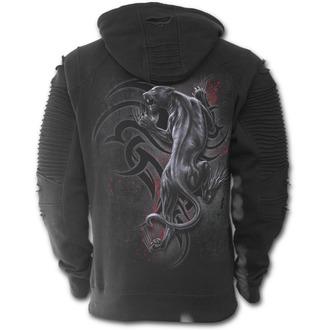 sweat-shirt avec capuche pour hommes - TRIBAL PANTHER - SPIRAL, SPIRAL