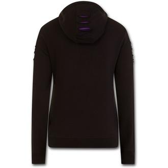 sweat-shirt avec capuche pour femmes - WOLF ROSES - SPIRAL, SPIRAL
