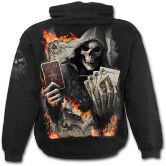 sweat-shirt avec capuche pour hommes - ACE REAPER - SPIRAL - T155M451