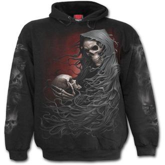 sweat-shirt avec capuche pour hommes - DEATH ROBE - SPIRAL, SPIRAL