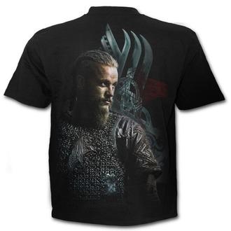 t-shirt de film pour hommes Vikingové - RAGNAR FACE - SPIRAL, SPIRAL