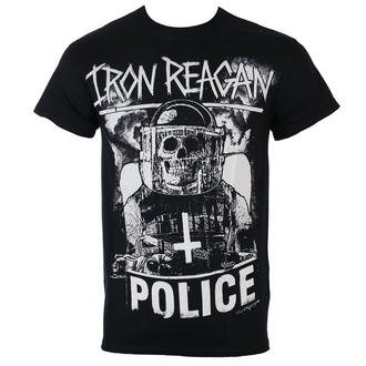 tee-shirt métal pour hommes Iron Reagan - RIOT COP - Just Say Rock, Just Say Rock, Iron Reagan