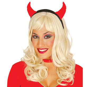 Bandeau Halloween RED SHE-DEVIL