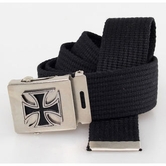 ceinture Cross - Noire, BLACK & METAL