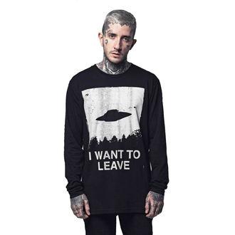 t-shirt hardcore unisexe - I WANT TO LEAVE - DISTURBIA, DISTURBIA