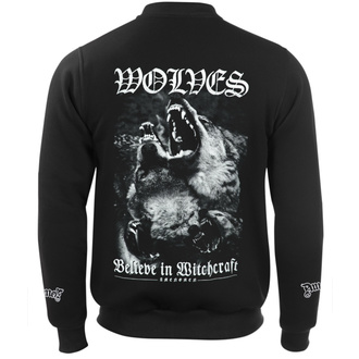 sweat-shirt sans capuche pour hommes - WOLVES - AMENOMEN, AMENOMEN