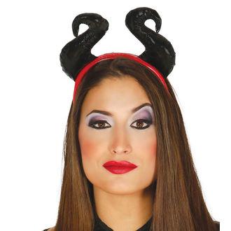 Bandeau Halloween cornes noires, NNM