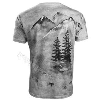 t-shirt pour hommes - Wolf - ALISTAR, ALISTAR