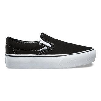 Chaussures VANS femme - UA CLASSIC SLIP-ON P Black, VANS