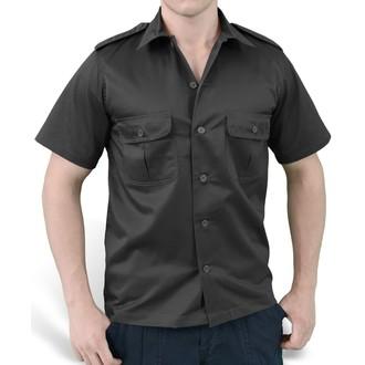 chemise SURPLUS - US Hemd 1/2 - NOIRE - 06-3582-03