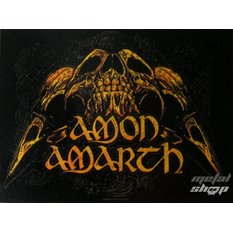 drapeau Amon Amarth - Crânes, HEART ROCK, Amon Amarth