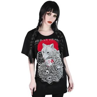 t-shirt pour femmes - Wild At Heart Relaxed - KILLSTAR - KSRA001864