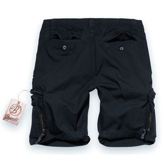 short pour hommes BRANDIT - Iron Vintage Shorts Noire, BRANDIT