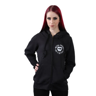 sweat-shirt avec capuche pour femmes - Pentagram - METAL CHICKS DO IT BETTER, METAL CHICKS DO IT BETTER