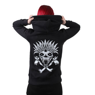 sweat-shirt avec capuche pour femmes - Indian - METAL CHICKS DO IT BETTER, METAL CHICKS DO IT BETTER