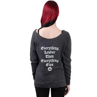 sweat-shirt sans capuche pour femmes Motörhead - Logo Burnout Open Edge - NNM, NNM, Motörhead