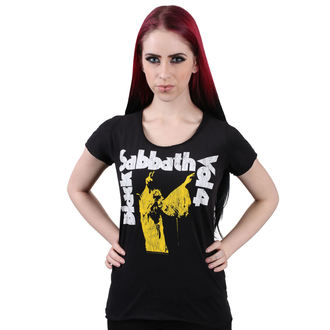 tee-shirt métal pour femmes Black Sabbath - BLACK - AMPLIFIED, AMPLIFIED, Black Sabbath