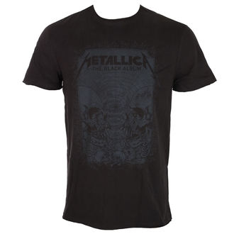 tee-shirt métal pour hommes Metallica - THE BLACK ALBUM - AMPLIFIED, AMPLIFIED, Metallica