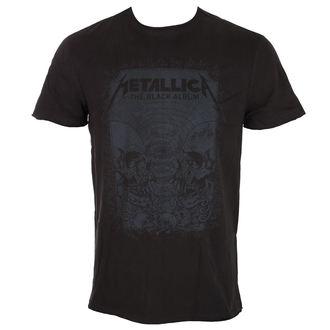 tee-shirt métal pour hommes Metallica - THE BLACK ALBUM - AMPLIFIED