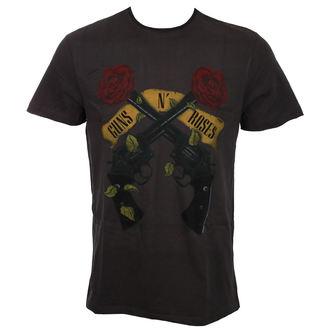 tee-shirt métal pour hommes Guns N' Roses - SHOOTING ROSES - AMPLIFIED, AMPLIFIED, Guns N' Roses